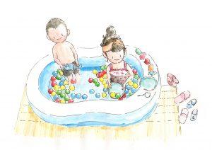 水いぼ プール